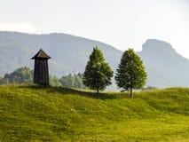 Vecchio campanile Fotografie Stock Libere da Diritti