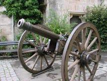 Il vecchio cannone immagine stock libera da diritti