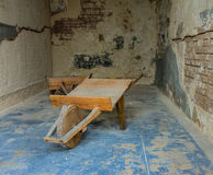 Il vecchio carretto di legno Fotografia Stock Libera da Diritti