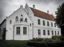 Il vecchio castello Fotografia Stock