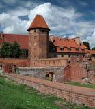 Il vecchio castello in Malbork. Fotografie Stock Libere da Diritti