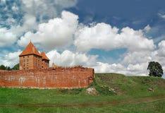 Il vecchio castello in Malbork. Fotografia Stock Libera da Diritti