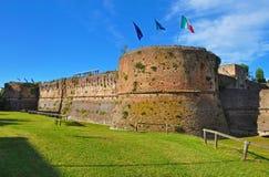 Il vecchio castello nella città italiana di Ravenna Fotografie Stock Libere da Diritti