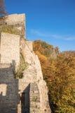 Il vecchio castello storico Hohenbaden in Baden-Baden Immagini Stock