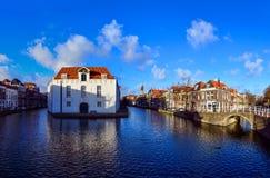 Il vecchio centro di Delft Fotografia Stock Libera da Diritti