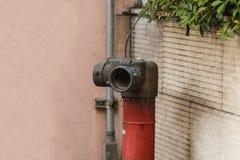 Il vecchio collegamento del corpo dei vigili del fuoco Fotografia Stock Libera da Diritti