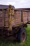 Il vecchio corpo del camion Fotografie Stock