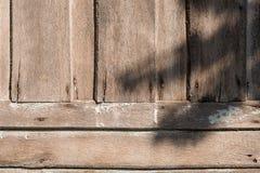 Il vecchio di legno Fotografie Stock Libere da Diritti