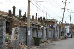 Il vecchio distretto di Hutong di Datong Fotografia Stock