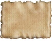 Il vecchio documento Fotografia Stock Libera da Diritti