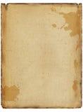Il vecchio documento Fotografia Stock