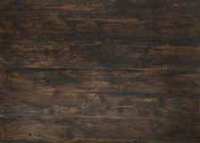 Il vecchio fondo di legno strutturato scuro, legno marrone ha macchiato lo stile fotografia stock libera da diritti