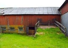 Il vecchio granaio Fotografia Stock