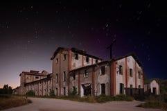 Il vecchio legno fabbrica Immagine Stock Libera da Diritti