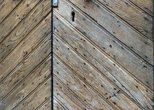 Il vecchio legno ha strutturato il fondo, il lerciume e stagionato della plancia, per progettazione immagine stock libera da diritti