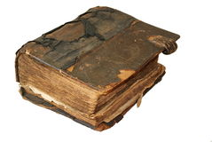 Il vecchio libro Fotografia Stock
