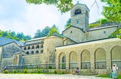 Il vecchio monastero fotografie stock