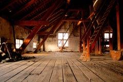 Il vecchio mulino da grano Immagine Stock