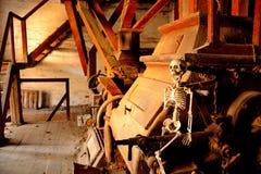 Il vecchio mulino da grano Fotografia Stock Libera da Diritti