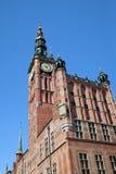 Il vecchio municipio Fotografia Stock Libera da Diritti