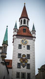 Il vecchio municipio Fotografie Stock