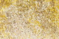 Il vecchio muro di cemento Fotografia Stock
