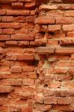 Il vecchio muro di mattoni Immagini Stock