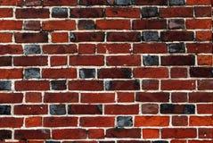 Il vecchio muro di mattoni del grunge Fotografia Stock