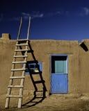 Il vecchio New Mexico Fotografia Stock Libera da Diritti