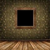 Il vecchio oro incornicia lo stile del Victorian Immagine Stock Libera da Diritti