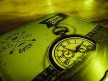 Il vecchio orologio dal 1775 Fotografia Stock