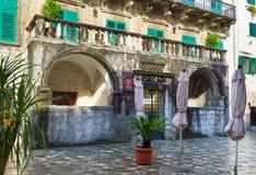 Il vecchio palazzo Immagini Stock