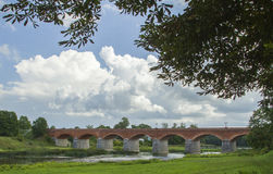 Il vecchio ponte del mattone Immagine Stock Libera da Diritti