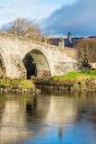 Il vecchio ponte medievale Stirling Scotland Immagine Stock
