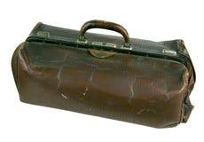 Il vecchio portafoglio violento. Fotografia Stock Libera da Diritti