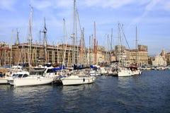 Il vecchio porto di Marsiglia Fotografia Stock Libera da Diritti