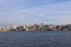 Il vecchio porto di Marsiglia, Francia Immagine Stock