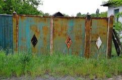 Il vecchio portone Fotografia Stock Libera da Diritti