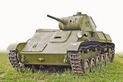 Il vecchio serbatoio T-70 dell'URSS Fotografie Stock Libere da Diritti