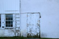 Il vecchio silo Fotografie Stock
