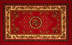 Il vecchio tappeto persiano Immagine Stock