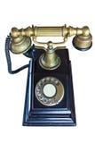 Il vecchio telefono Fotografia Stock
