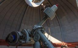 Il vecchio telescopio sovietico dai tempi dell'URSS Immagine Stock Libera da Diritti