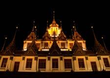 Il vecchio tempio a Bangkok Fotografia Stock