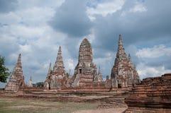 Il vecchio tempio in Tailandia Immagini Stock Libere da Diritti