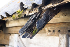Il vecchio tetto Fotografie Stock