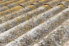 Il vecchio tetto Fotografia Stock