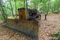 Il vecchio trattore Fotografie Stock Libere da Diritti