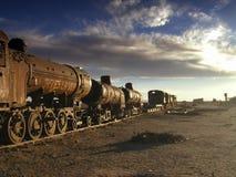 Il vecchio treno Fotografia Stock Libera da Diritti
