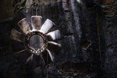 Il vecchio ventilatore Fotografia Stock Libera da Diritti